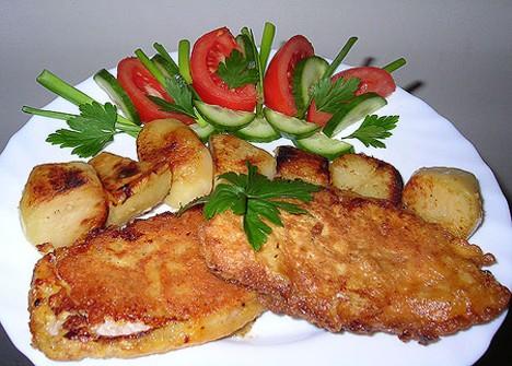 Эскалоп из свинины кулинарный рецепт приготовления
