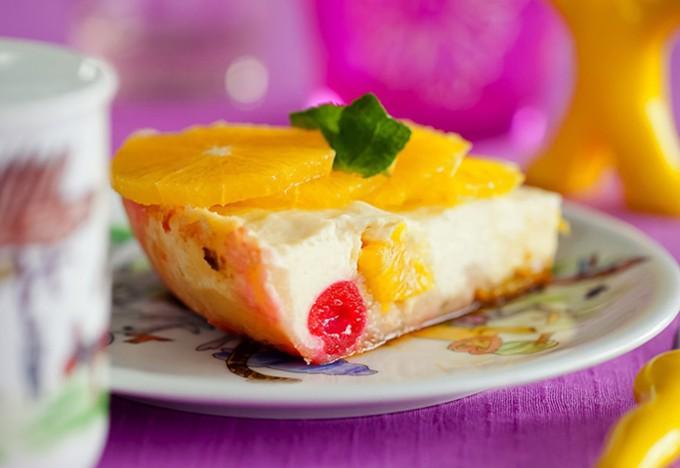 Творожная запеканка с фруктами в мультиварке — «вкусно-вкусно»!