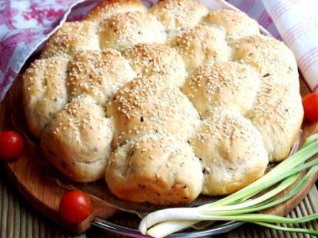 Постные капустные булочки