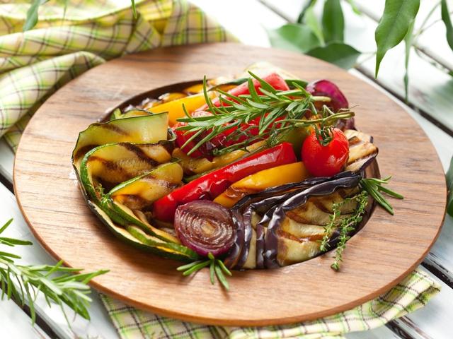 Изумительные овощи на гриле