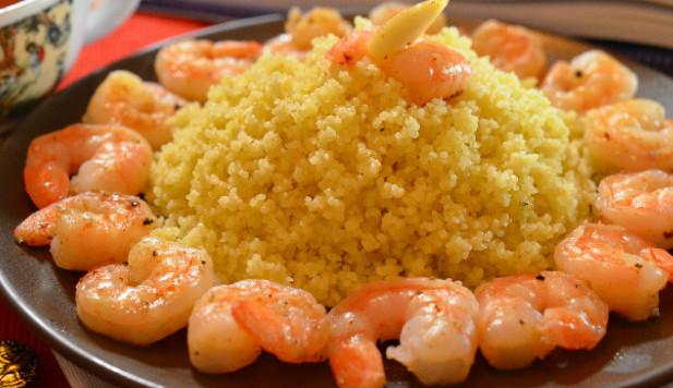 Кус-кус с креветками рецепт приготовления с фото готовим вкусно